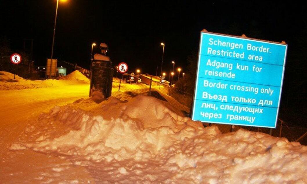 Greneseovergang Storskog i Kirkenes
