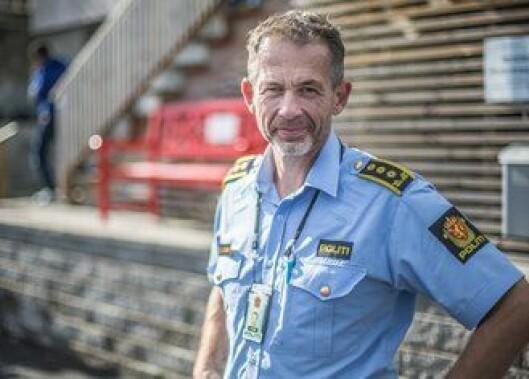 Leder for felleskriminal enhet i Østfold, politiinspektør Tom Erik Guttulsrød.