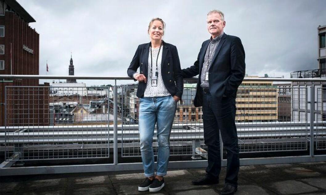 LEDET ARBEIDET: Mette Skjæret og Nils Moe har ledet arbeidet med Politiarbeid på stedet. Nå håper de mange ledere møter på konferanse, slik at etaten kan etterforske smartere og raskere.
