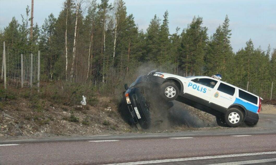 – Det legges opp til den største omorganiseringen i politihistorien, men så underfinansieres den, sier Lena Nitz, forbunsleder i Polisförbundet etter at den svenske regjeringen i dag la fram sitt budsjettforslag.