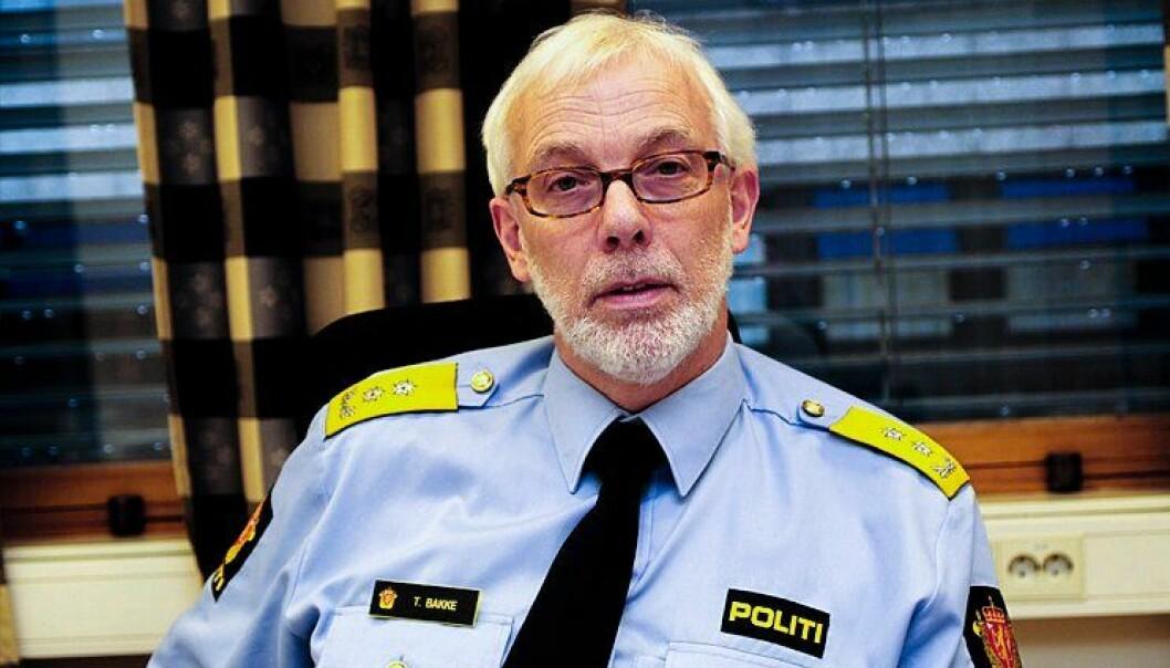 LITE KAPASITET: Tormod Bakke, politimester i Hedmark, sier det er vanskelig å få fullstendig oversikt over alle våpen.