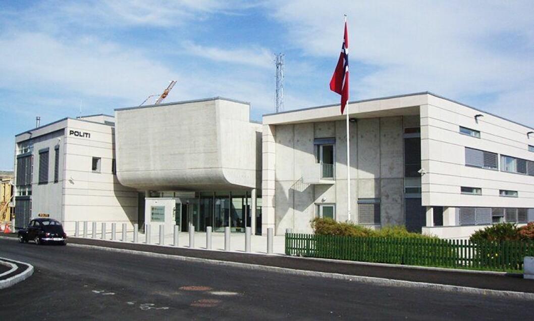 Politihuset i Florø stod ferdig i 2008. I løpet av et par år vil operasjonssentralen flyttes herfra.