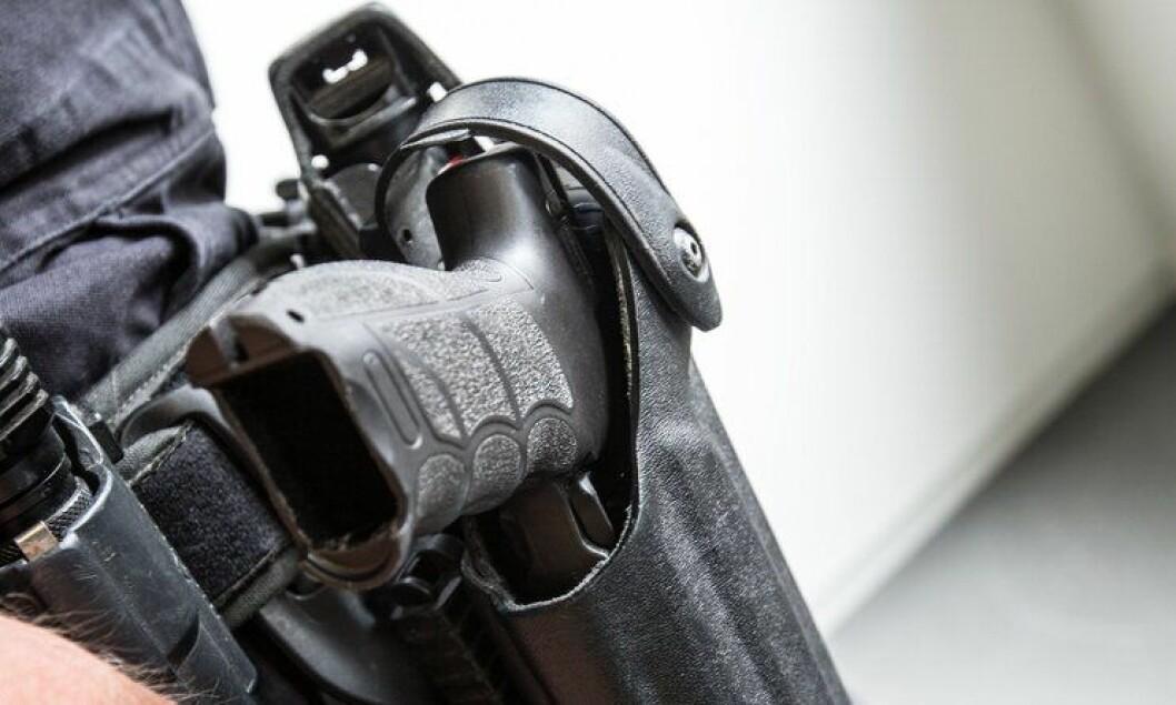 KRITIKK: PST går i sin høringsuttalelse for bevæpning av norsk politi. PST kom med krass kritikk av Bevæpningsutvalget.