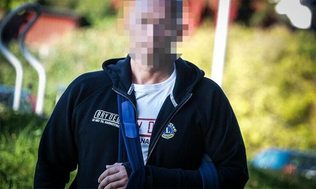 Fire dager etter skyteepisoden i slutten av september var politimannen Erik (45) tilbake på politihuset på Hamar. Der takket han kollegaen.