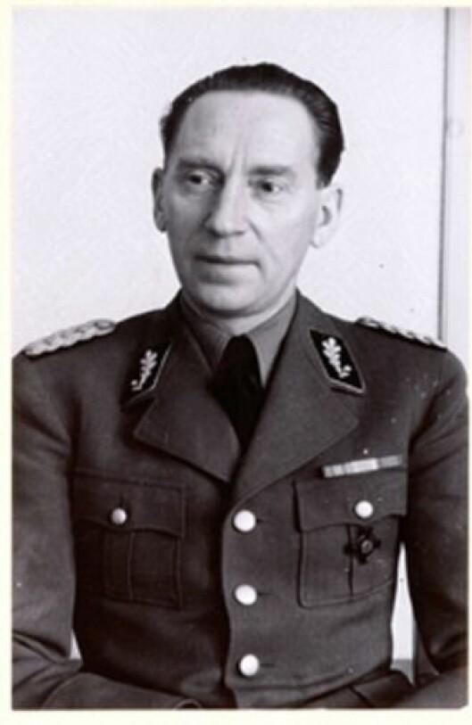 Nazifisert: Karl Marthinsen blir betegnet som en av de mest nazifiserte norske politifolkene under andre verdenskrig.