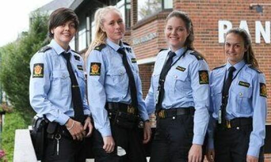 Siv Monika Henningsen, Kristine Haraldseid, Ingvill Kjuul og Cathrine Winje