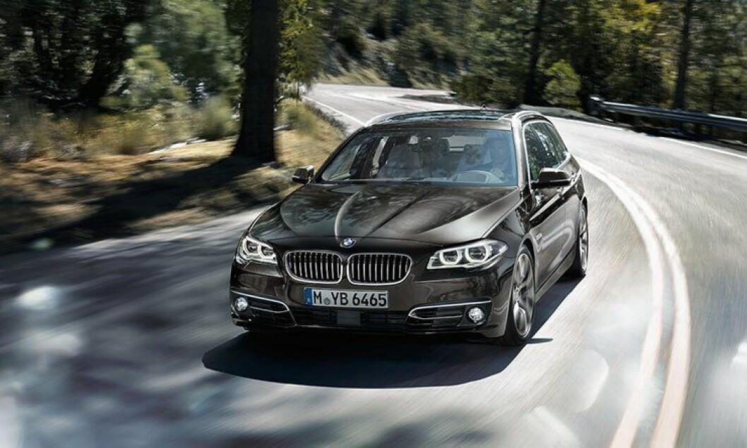 BMW 520d xDrive Touring blir politiets nye patruljebil.