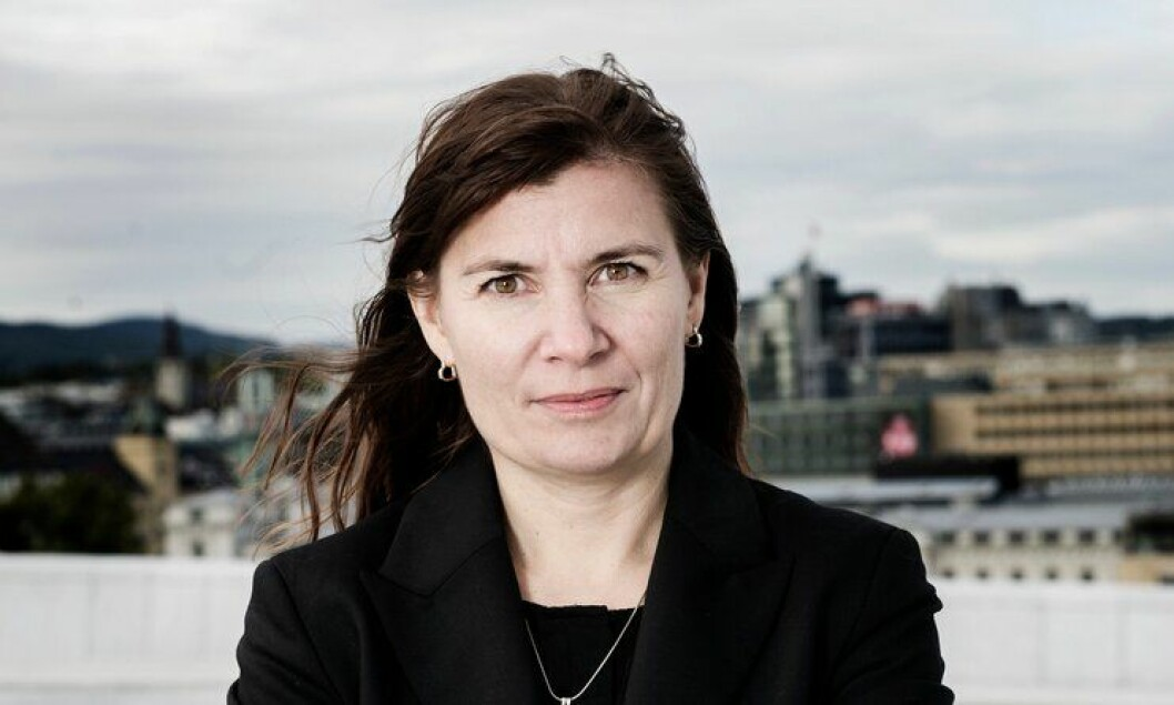 Ellen Katrine Hætta, politimester i Østfinnmark politidistrikt.