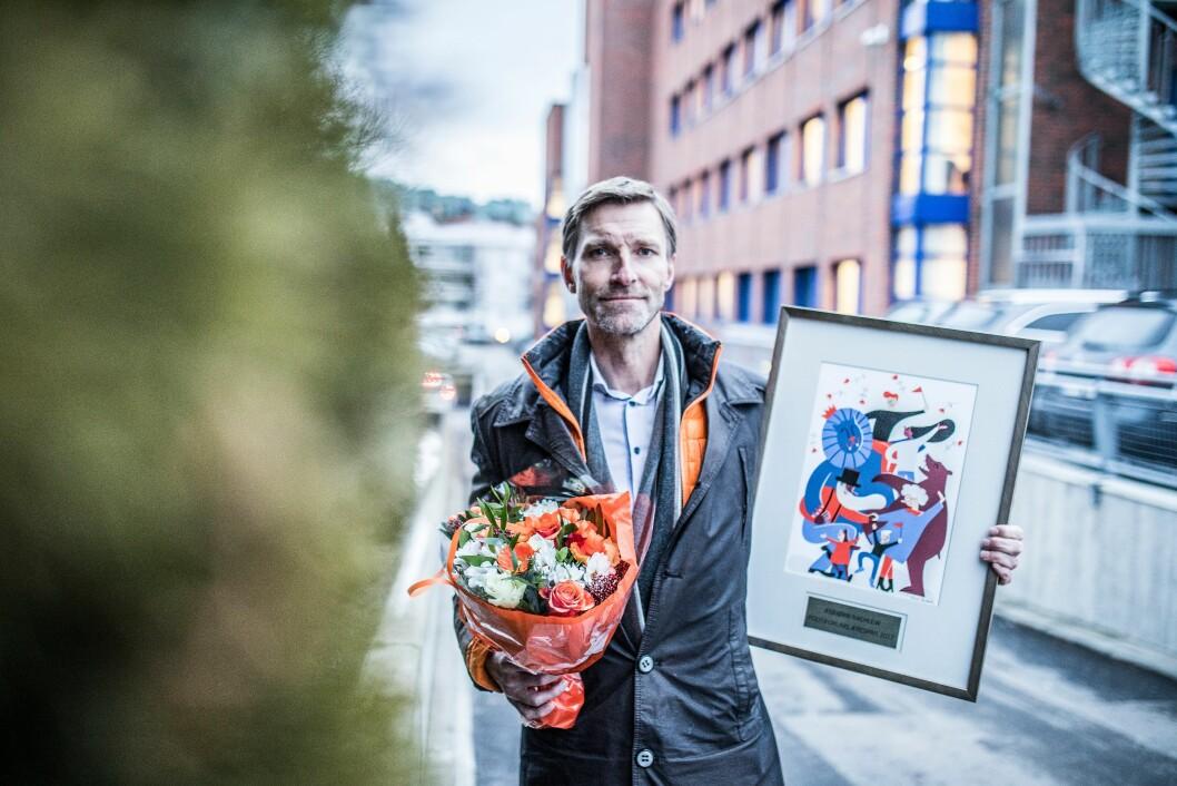 Asbjørn Rachlew fikk Æresprisen for ett år siden. Hvem bør få den for 2018?