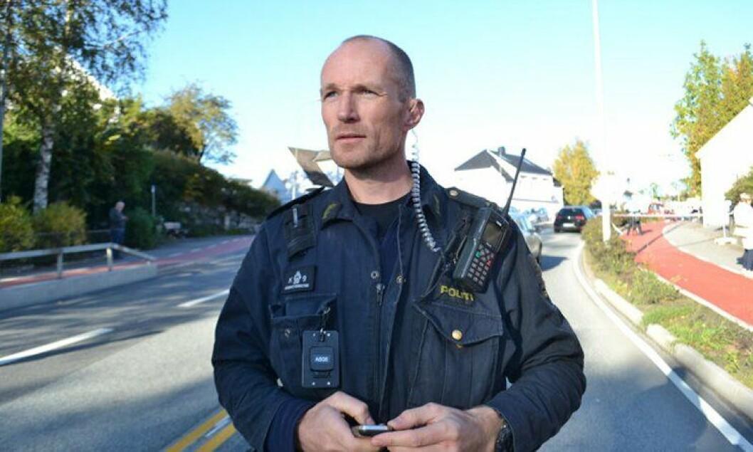 Leif Erik Garthus er politibetjent i Agder-politiet og har skrevet leserinnlegg.