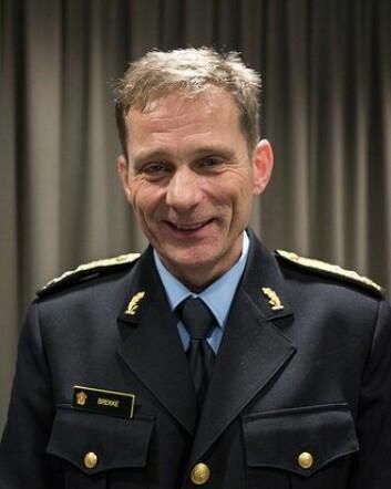 FORNØYD: Politimester i Innlandet, Johan Brekke ser fram til nytt tjenestested ved svenskegrensa og et samarbeid med svensk politi.