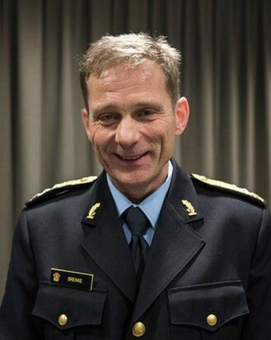 Johan Brekke, kommende politimester i Innlandet.