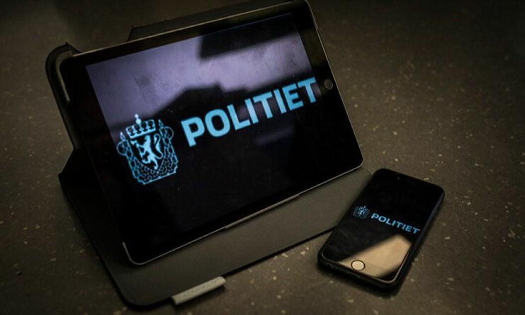 Har man opphavsretten til en app fordi man kom på ideen først? Ja, mener en politimann som har utviklet egne apper på fritiden. Illustrasjonsbilde.