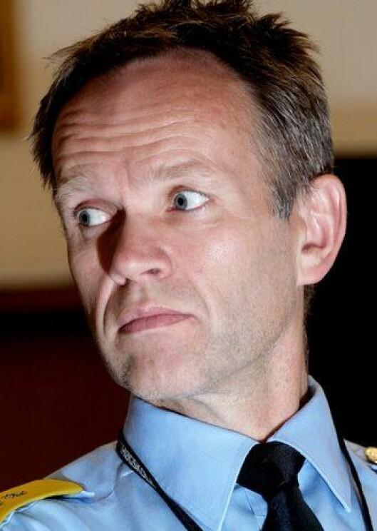 Håkon Skulstad i Politidirektoratet.