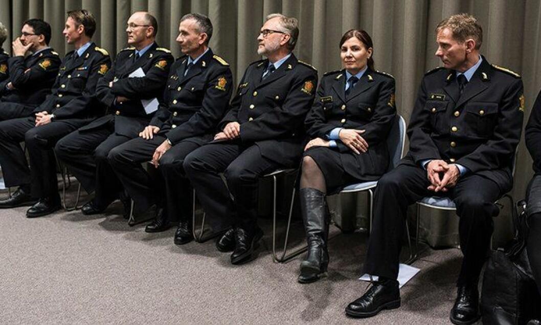 Ellen Katrine Hætta er en av få kvinnelige politimestre.