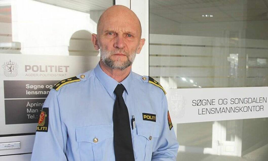 Terje Pedersen, lensmann i Søgne og Songdalen.