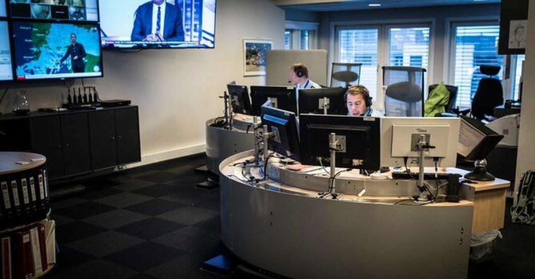 SIST UT: Operasjonssentralen i Drammen blir blant de siste som legges ned. – Vi forstår skuffelsen, sier politidirektøren.
