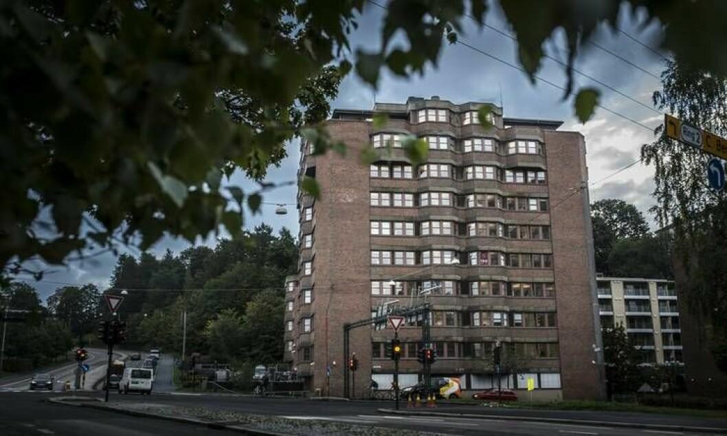 Her hos Politiets Utlendingsenhet på Tøyen i Oslo ble tallene for uttransport lagt fram mandag.