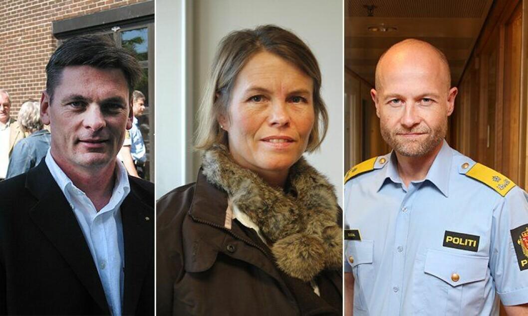 Knut Smedsrud, Marit Fostervold og Steffen Ousdal er blant søkerne til jobben som beredskapsdirektør.