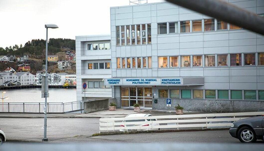 FORVIRRING: Det råder full forvirring om de 50 arbeidsplassene ved politiets lønns- og regnskapssenter i Kristiansund. Møtet i dag er et såkalt IDF-møte med POD, som holdes jevnlig.