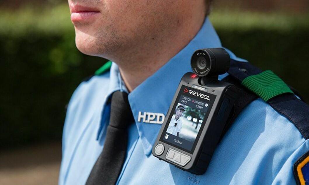 Det er produsenten Reveal som leverer kameraene til politiet i England.