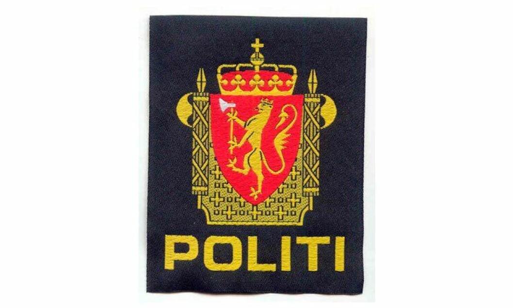 Politiemblemet.