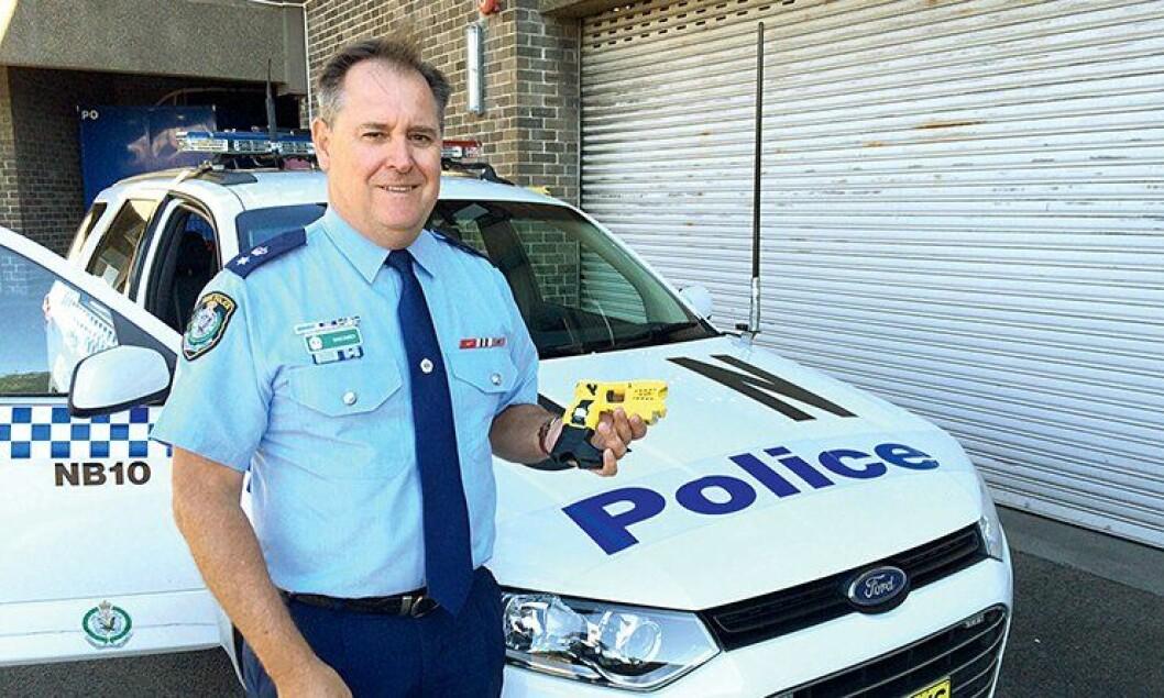 Politiførstebetjent David Darcey i Sydney-politiet.
