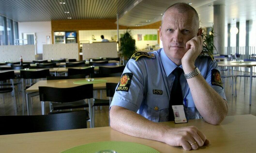 Tidligere politistasjonssjef i Trondheim og forbundssekretær i Politiets Fellesforbund, Ove Sem. Arkivfoto.