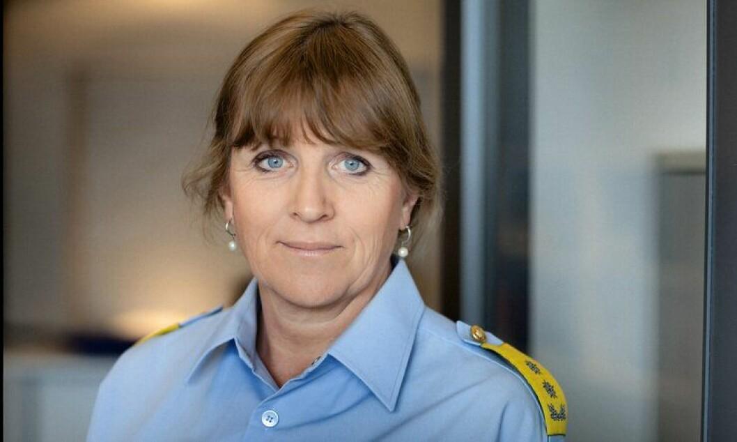 Leder for Politiets Utlendingsenhet (PU), Kristin Kvigne.