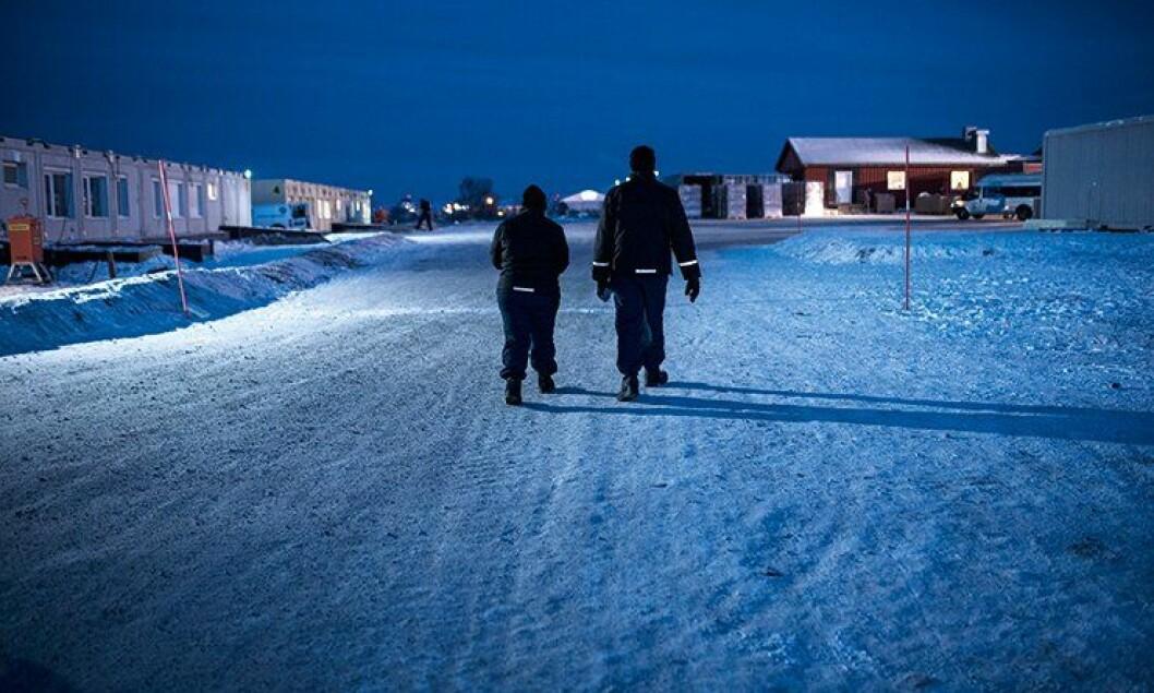 Finnmark politidistrikt er øde og langstrakt. Det er utfordrende for politiet.