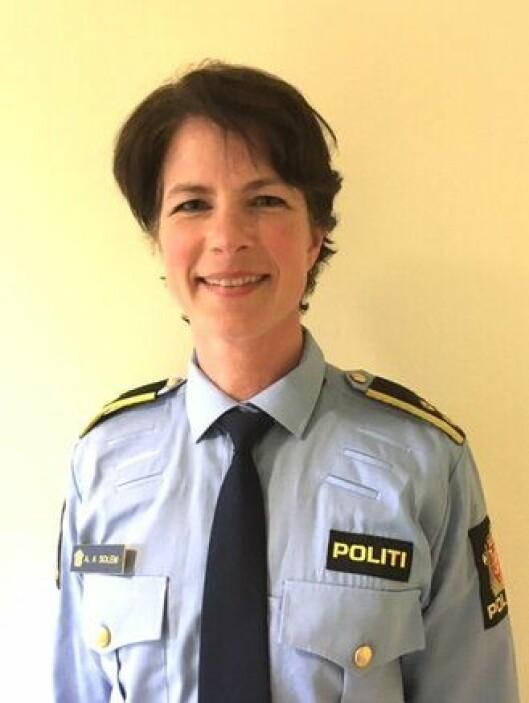 Anne Alræk Solem, politioverbetjent på Stovner politistasjon.