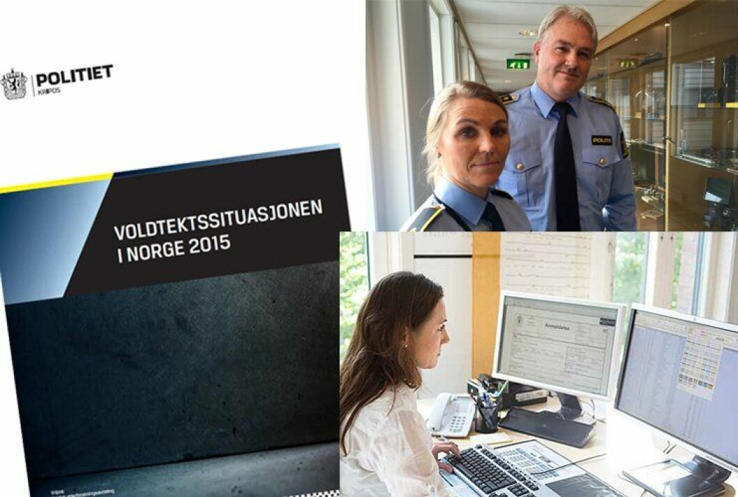 Ny rapport: Kripos har nylig publisert en ny rapport som viser voldtektssituasjonen 2015. Eivind Borge, leder for taktisk etterforskingsavdeling og Ann Kristin Grosberghaugen, leder av voldtektsseksjonen i Kripos, er avbildet øverst til høyre.