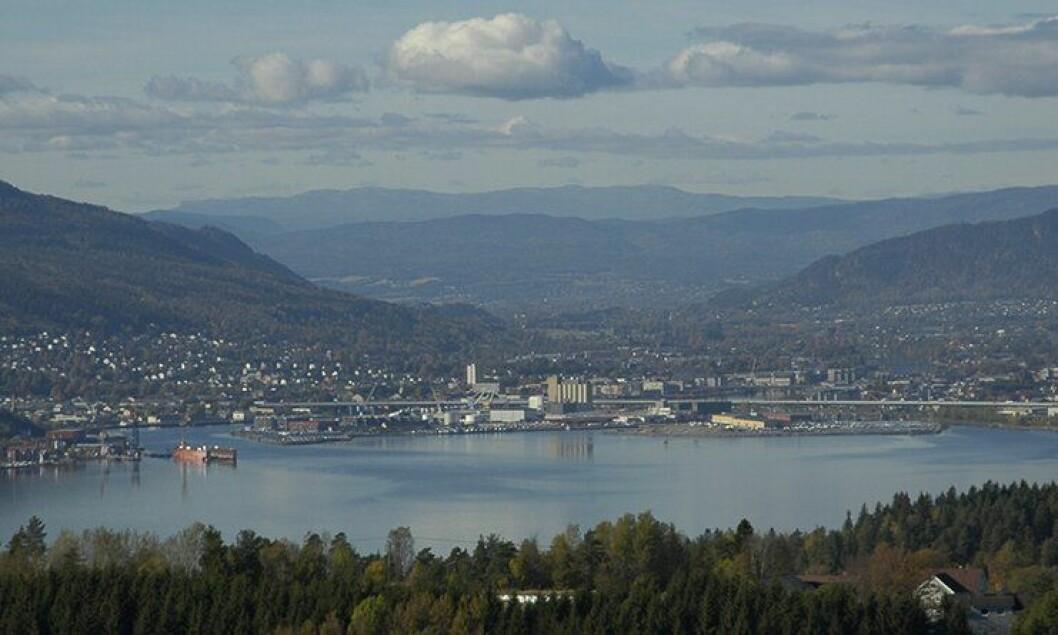 Politidirektoratet ønsker at politiets nye lønn- og regnskapssenter legges til Drammen.