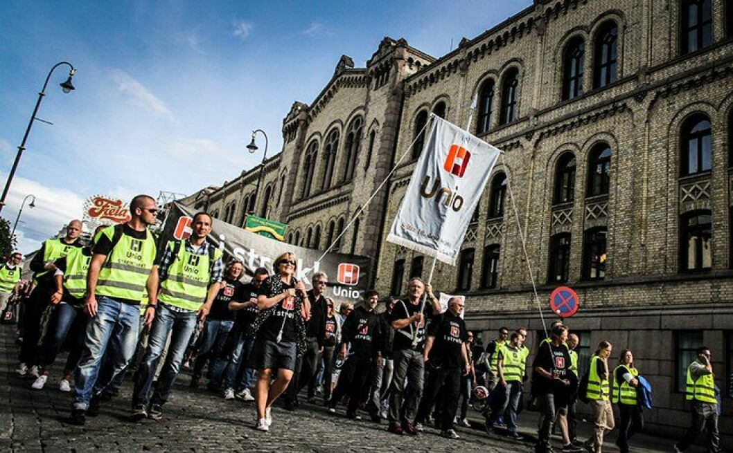 Unio har varslet at nesten 2000 statsansatte blir tatt ut i streik hvis ikke meklingene mellom Staten og Unio, LO og YS fører fram. Mange av dem er politifolk.