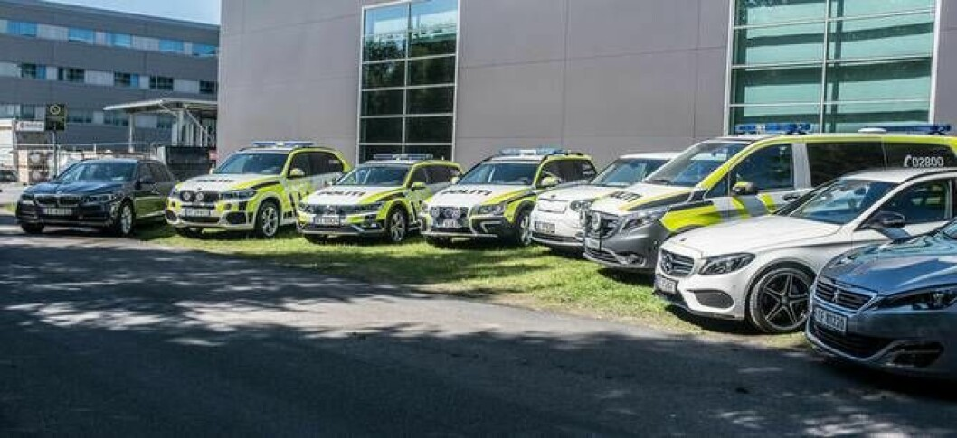 PFT viste fram de fleste bilene de har i stallen da de arrangerte materiellkonferanse.