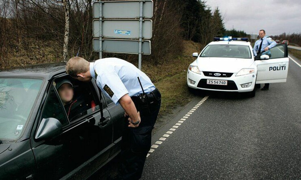 Dansk politi opplever nedbemanning etter politireformen i landet.
