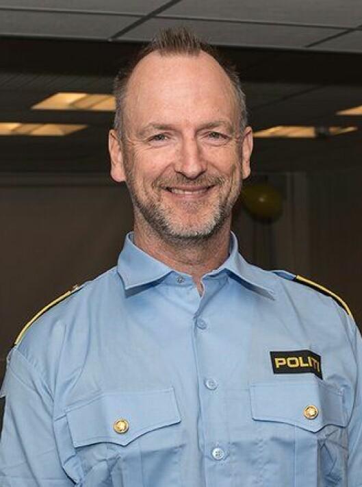 Gunnar Lien Holsten i Oslo politidistrikt.