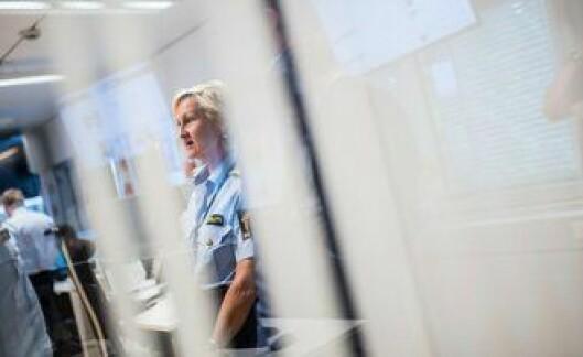 Veien er kort mellom etterretning og etterforskning gjennom glassdørene i kommandopunktet. Visepolitimester Smogeli er fornøyd.