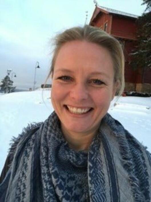 Linn Kathrine Knudsen er leder i Politiets Fellesforbund i Møre og Romsdal.