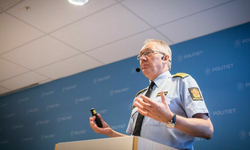 Politidirektør Odd Reidar Humlegård.