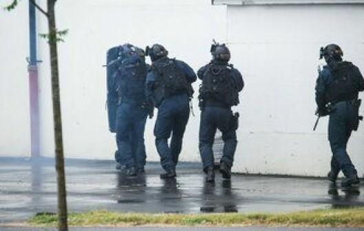 Delta viste fram taktikken for gamle veteraner og polititopper fra inn- og utland.