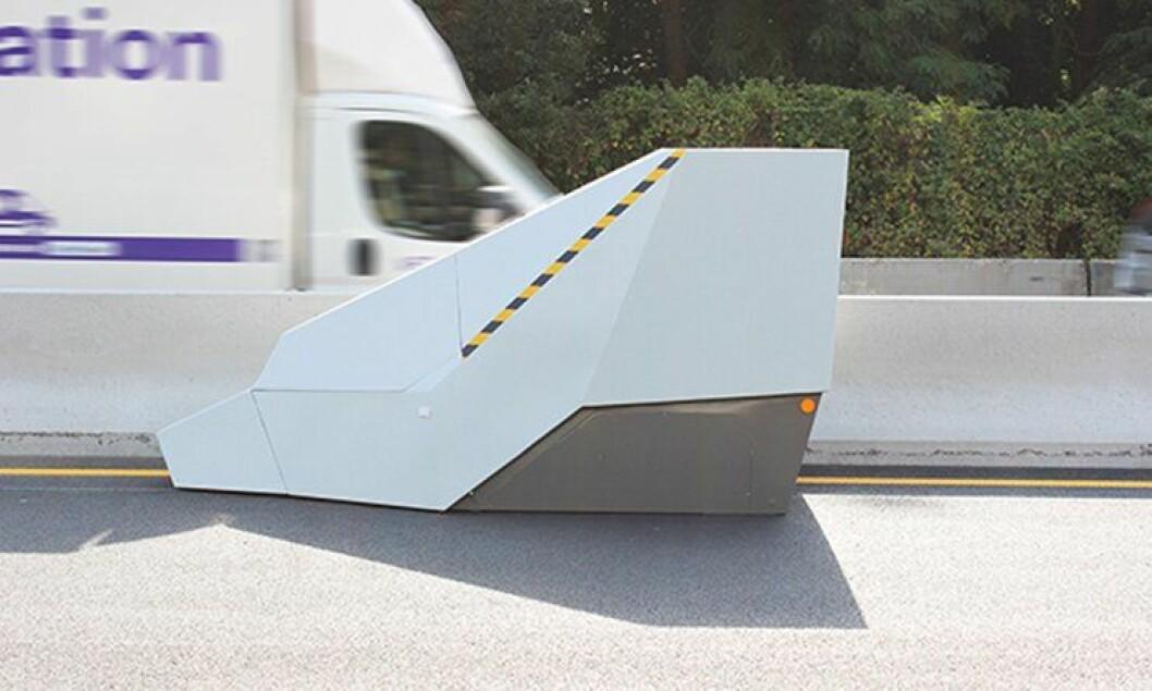 Vitronics enforcement trailer.