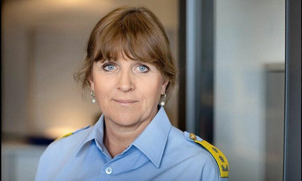 Kristin Kvigne, avtroppende leder av Politiets Utlendingsenhet (PU).