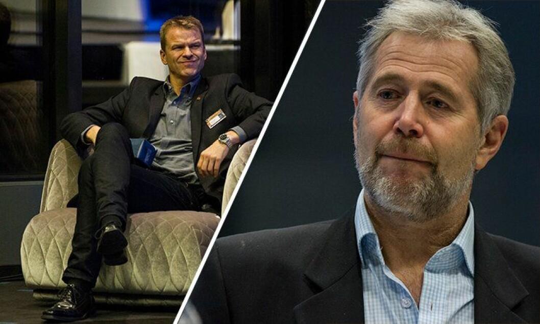 Dagens PF-leder, Sigve Bolstad, møtte gårsdagens PF-leder, Arne Johannessen til debatt om bevæpning. Johannessen gikk av som PF-leder for noen år tilbake, blant annet som følge av at PF gikk inn for permanent bevæpning av politiet.
