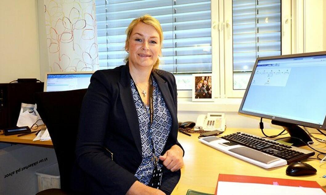 Cathrine Hasler Bakka har funnet en løsning i politiets fakturasystem som kan spare etaten for flere millioner kroner.