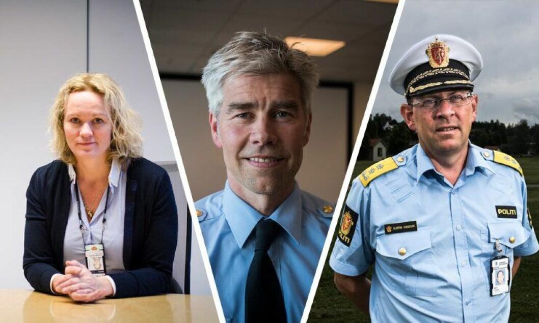 Cecilie Lilaas-Skari, Atle Roll-Matthiesen og Bjørn Vandvik er blant de sju som vil bli visepolitimester i Oslo.