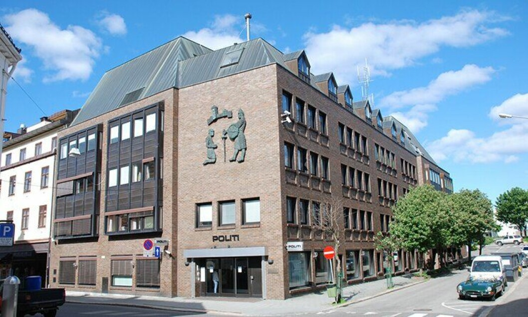 Tønsberg politistasjon, hovedsetet i Sør-Øst politidistrikt.