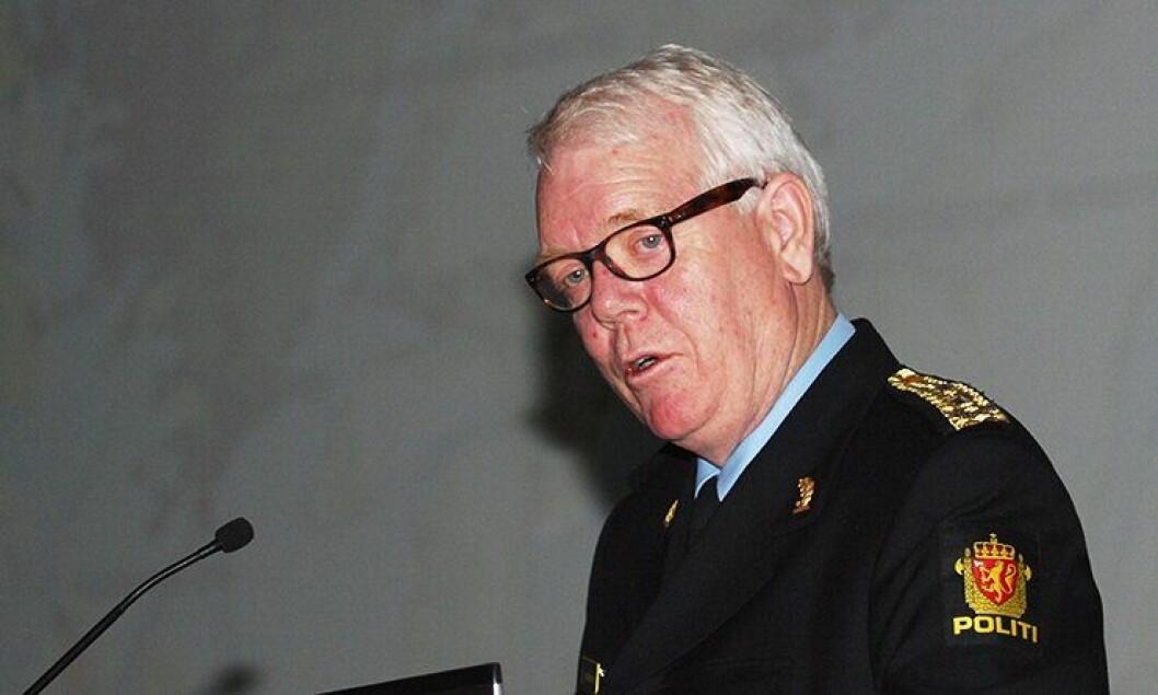 Geir Gudmundsen, tidligere politimester i Hordaland.