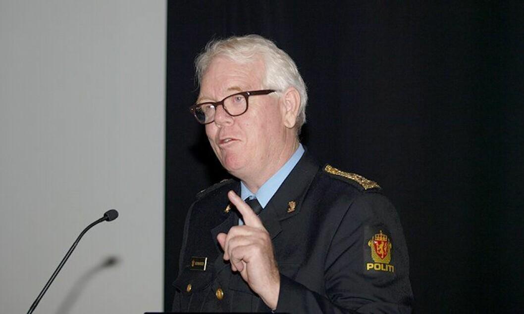 Geir Gudmundsen da han fortsatt var politimester i Hordaland politidistrikt.