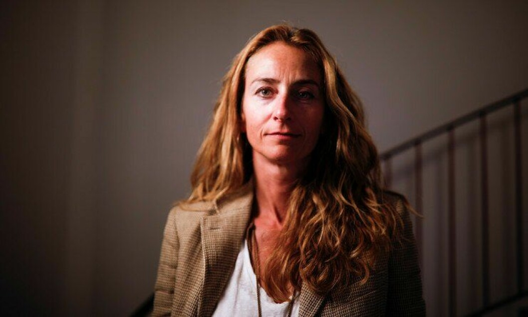 Kristin Aga, leder i Oslo politiforening.